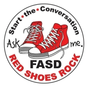 Donation Button for Red Shoes Rock