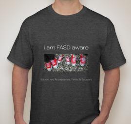 t-shirt FASD AWARE-melissa-gill
