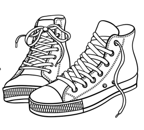 Coloring-Shoes-High-Tops