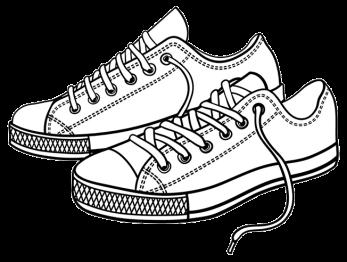 Coloring-Shoes-Tennis-Shoes-Side